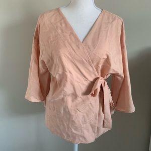 Zara Kimono Blouse Sz Small